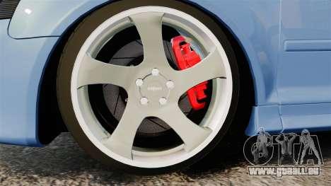 Audi S3 EmreAKIN Edition pour GTA 4 Vue arrière