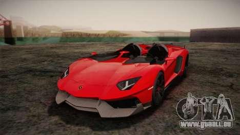 Lamborghini Aventandor J 2010 für GTA San Andreas