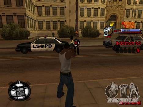 C-HUD Admins Team für GTA San Andreas achten Screenshot
