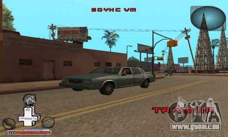 Schöne C-HUD für GTA San Andreas her Screenshot