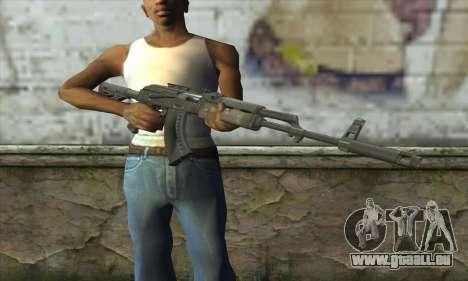 AKM - 47 pour GTA San Andreas troisième écran