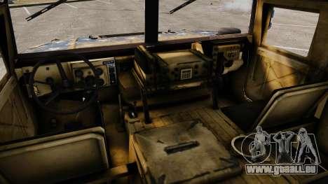 HMMWV M1114 Freedom pour GTA 4 Vue arrière