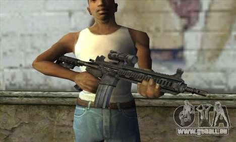 HK416 pour GTA San Andreas troisième écran