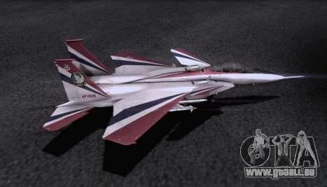 F-15S pour GTA San Andreas vue de dessus