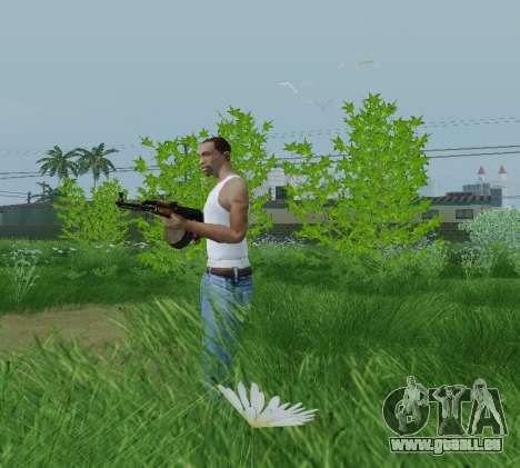 Kalaschnikow Light Machine Gun für GTA San Andreas zweiten Screenshot