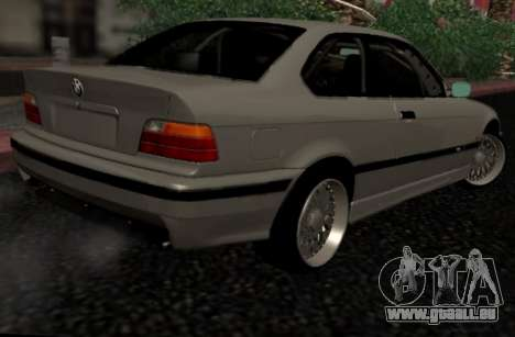 BMW M3 E36 Hellafail für GTA San Andreas zurück linke Ansicht