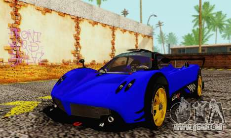 Pagani Zonda Type R Blue für GTA San Andreas