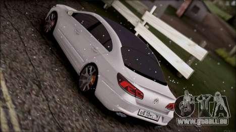 Volkswagen Passat CC für GTA San Andreas Innenansicht