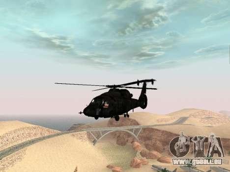 KA-60 pour GTA San Andreas vue de droite
