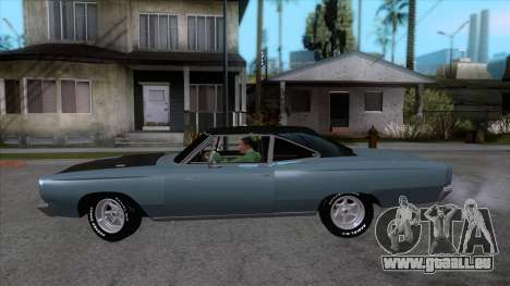 Plymouth Road RunneR 1969 für GTA San Andreas linke Ansicht