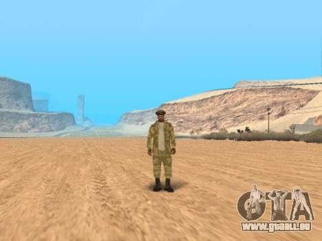 Pak service dans l'armée russe pour GTA San Andreas douzième écran