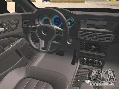 Mercedes-Benz CLS350 2012 pour GTA San Andreas vue de côté