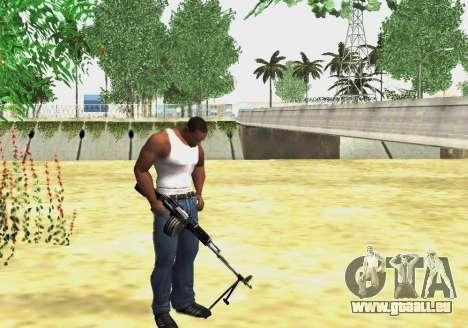 RPK-203 für GTA San Andreas dritten Screenshot