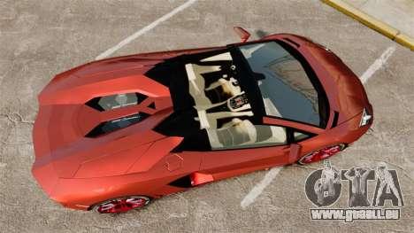 Lamborghini Aventador LP 700-4 Roadster [EPM] pour GTA 4 est un droit