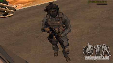 Sgt Keegan P.Russ из Call Of Duty: Ghosts pour GTA San Andreas