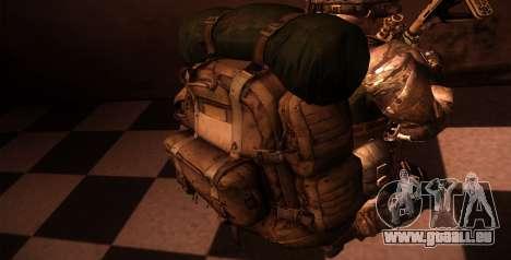 Рюкзак из MOH Warfighter pour GTA San Andreas cinquième écran