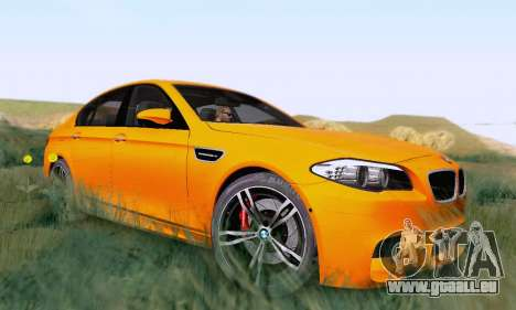 BMW F10 M5 2012 Stock pour GTA San Andreas