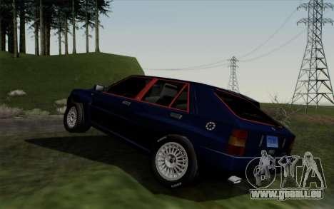 Lancia Delta HF Integrale Evo2 pour GTA San Andreas vue de droite