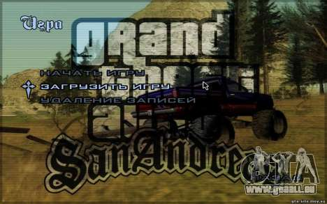 HD-Menüs für GTA San Andreas zweiten Screenshot