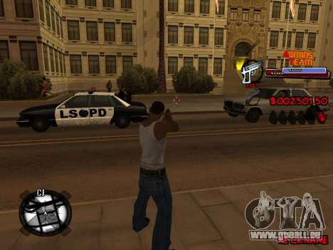 C-HUD Admins Team für GTA San Andreas siebten Screenshot