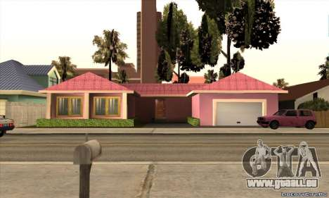 Neues Haus Milli für GTA San Andreas