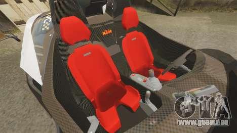 KTM X-Bow R [FINAL] pour GTA 4 est un côté