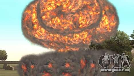 Frappe nucléaire pour GTA San Andreas troisième écran