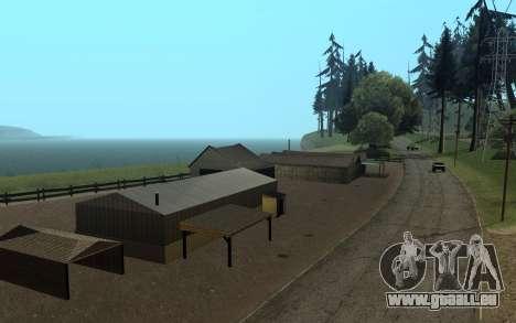 RoSA Project v1.4 Countryside SF pour GTA San Andreas troisième écran