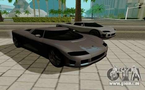 GTA 5 Overflod Entity XF pour GTA San Andreas laissé vue