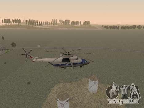 Mi 26 Zivil für GTA San Andreas Seitenansicht