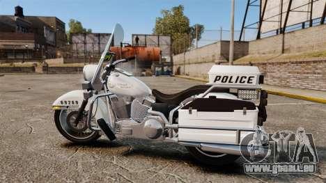 GTA V Western Motorcycle Police Bike für GTA 4 linke Ansicht