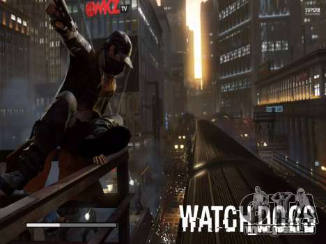 Les écrans de démarrage et de menus Watch Dogs pour GTA San Andreas huitième écran