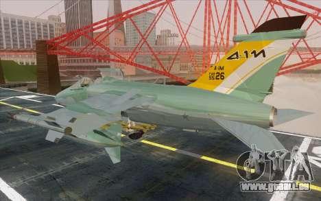 A-1M AMX pour GTA San Andreas laissé vue