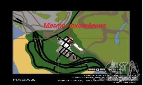 Neues Haus von Sijia in Angel Pine für GTA San Andreas her Screenshot