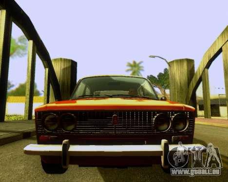 VAZ 2103 Accordables pour GTA San Andreas vue intérieure