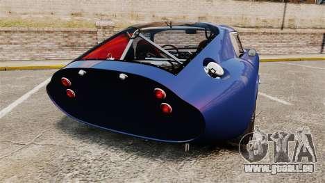 Shelby Cobra Daytona Coupe pour GTA 4 Vue arrière de la gauche