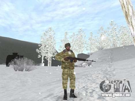 Pak service dans l'armée russe pour GTA San Andreas huitième écran