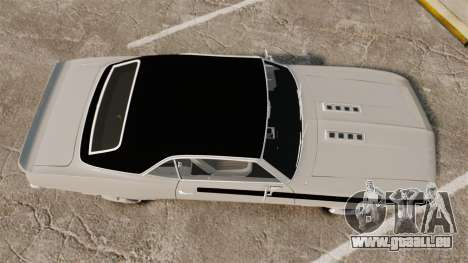 Chevrolet Camaro SS pour GTA 4 est un droit