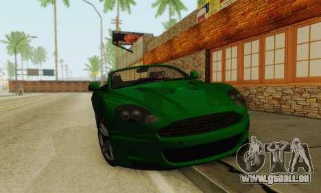 Aston Martin DBS Volante pour GTA San Andreas laissé vue