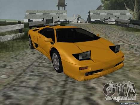 Lamborghini Diablo SV pour GTA San Andreas