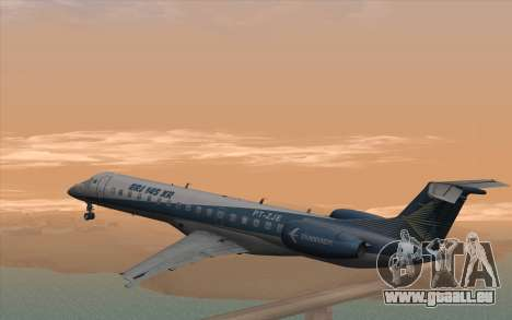 Embraer 145 Xp für GTA San Andreas linke Ansicht