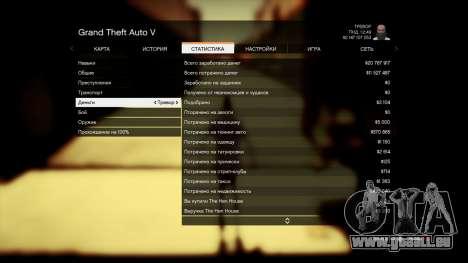 GTA 5 Enregistrer GTA 5 100% et 1 milliard Xbox 360 cinquième capture d'écran