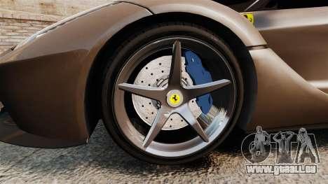 Ferrari LaFerrari v2.0 für GTA 4 Rückansicht