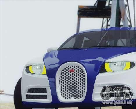 Bugatti Galibier 16c Final für GTA San Andreas rechten Ansicht