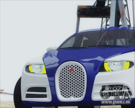 Bugatti Galibier 16c Final pour GTA San Andreas vue de droite