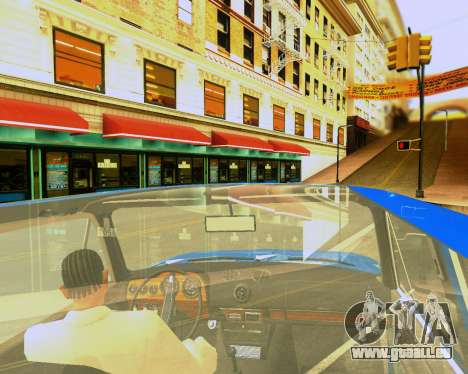 VAZ 2103 Accordables pour GTA San Andreas roue