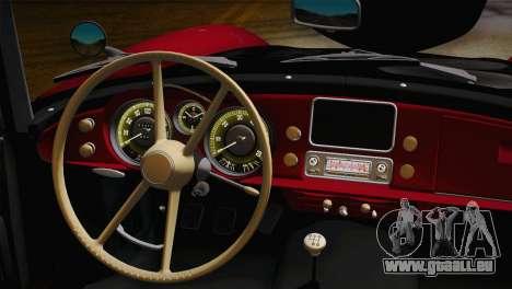 BMW 507 1959 Stock pour GTA San Andreas vue de droite