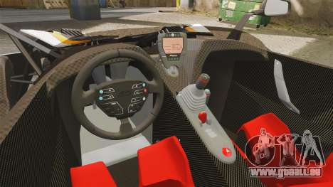 KTM X-Bow R [FINAL] pour GTA 4 est une vue de l'intérieur