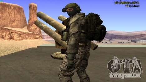 U.S. Navy Seal für GTA San Andreas siebten Screenshot