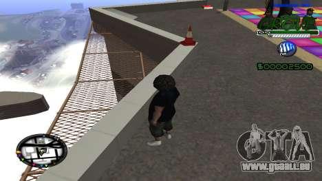 C-HUD Grove Street für GTA San Andreas zweiten Screenshot